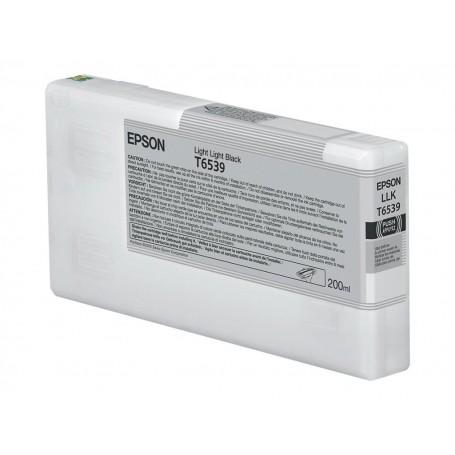 Epson T6539 - Réservoir gris clair 200ml