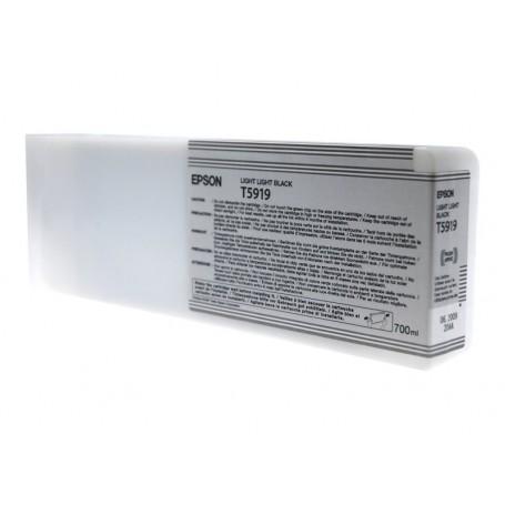 Epson T5919 - Réservoir gris clair 700ml