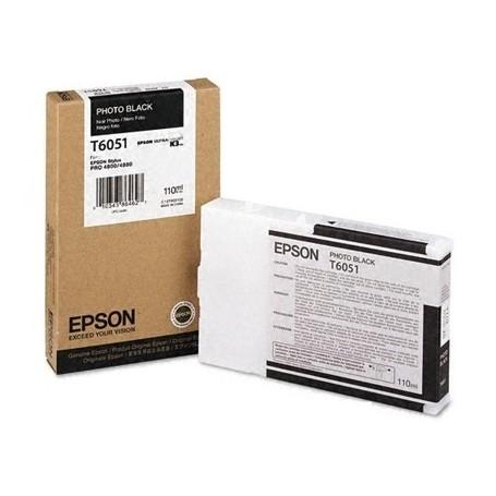 Epson T6051 - Réservoir photo noire 110ml