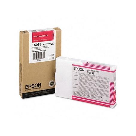 Epson T6053 - Réservoir magenta 110ml