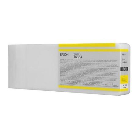 Epson T6364 - Réservoir jaune 700ml