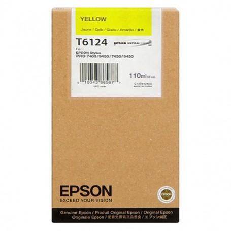 Epson T6114 - Réservoir jaune 110ml