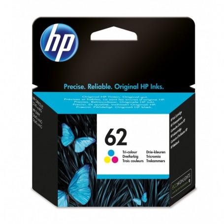 HP 62 - C2P06AE - cartouche d'impression couleurs (Jusqu'à 165 pages)