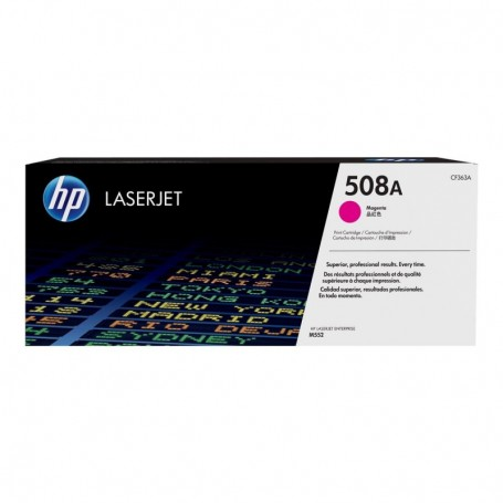 HP 508A - CF363A - cartouche de toner magenta (Jusqu'à 5000 pages)