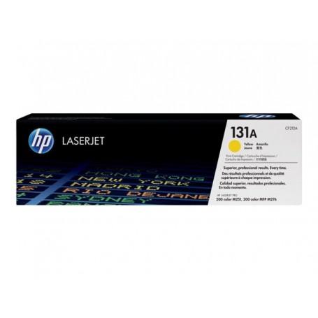 HP 131A - CF212A - cartouche de toner jaune (Jusqu'à 1800 pages)