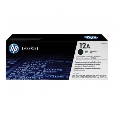 HP 12A - Q2612A - cartouche de toner noir (Jusqu'à 2000 pages)
