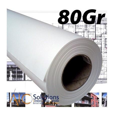 """ColorPrint Draft Papier traceur 80gr 1,067 (42"""") x 50m"""