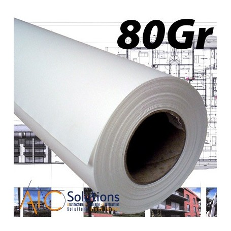 ColorPrint Draft Papier traceur 80gr 0,594 (A1) x 90m