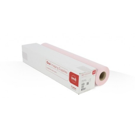 """Océ LFM425 - Papier PPC Rose Pastel FSC 80gr 0,841 (A0) x 150m (Ø3"""") (7727B004AA)"""