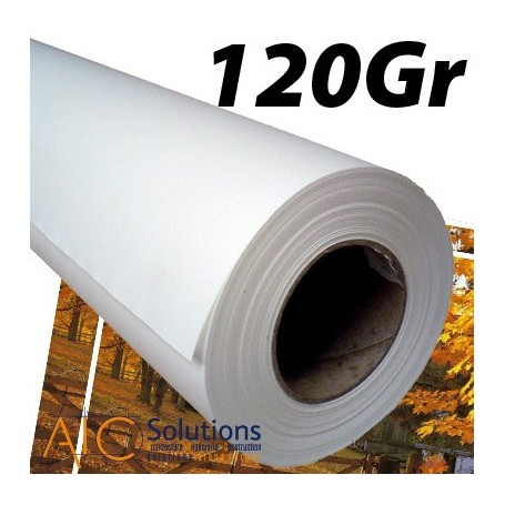 """ImagePrint Papier couché Haute Résolution 120Gr 0,610 (24"""") x 30m"""