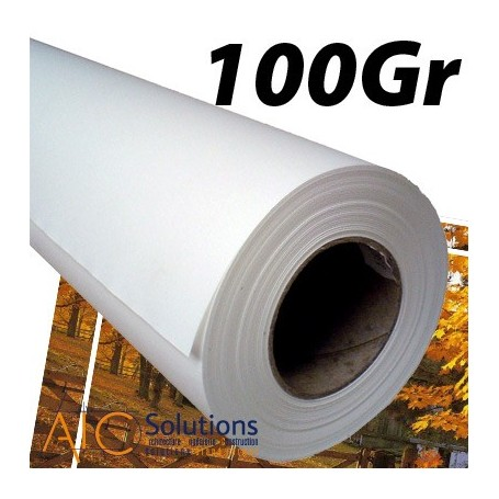"""ImagePrint Papier couché Haute Résolution 100Gr 0,914 (36"""") x 90m"""