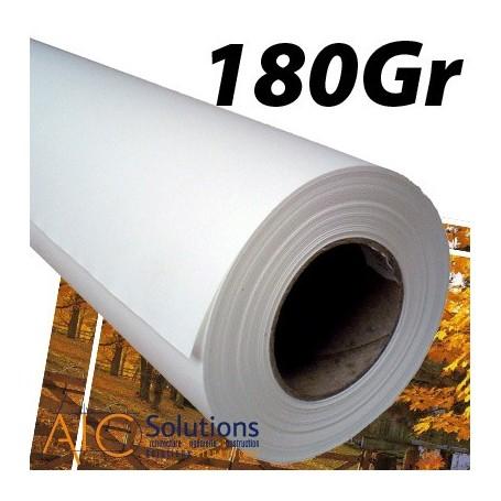 """ImagePrint Papier couché Haute Résolution 180Gr 0,610 (24"""") x 30m"""