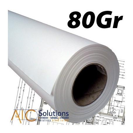 Papier PPC Draft 75/80gr 0,594 (A1) x 175m Palette Box