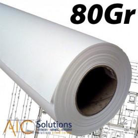 Papier PPC Draft 75/80gr 0,841 (A0) x 175m Palette Box