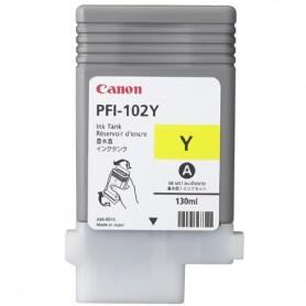 Canon PFI-102 Y - Cartouche d'impression jaune 130ml