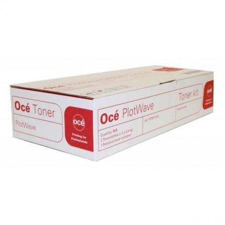 Océ PlotWave 345, 365 - Carton de 2 toners noirs de 400g (1284C001BA)