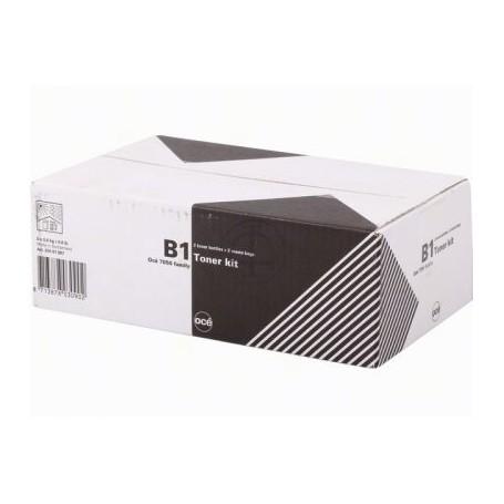 Océ B1 - Carton de 2 toners noirs de 400g et bac de récupération (7495B001AA)