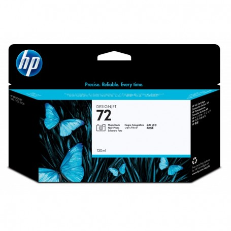 HP 72 - Cartouche d'impression photo noire 130ml (C9370A)