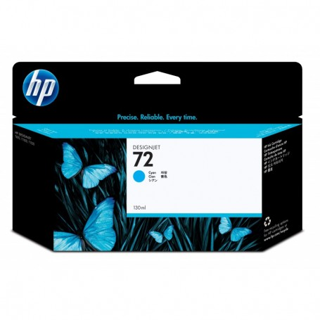 HP 72 - Cartouche d'impression cyan 130ml (C9371A)