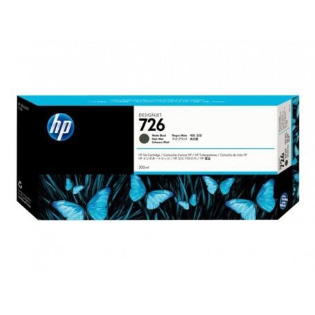 HP 726 - Cartouche d'impression noir mat 300ml (CH575A)