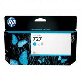 HP 727 - Cartouche d'impression cyan 130ml (B3P19A)