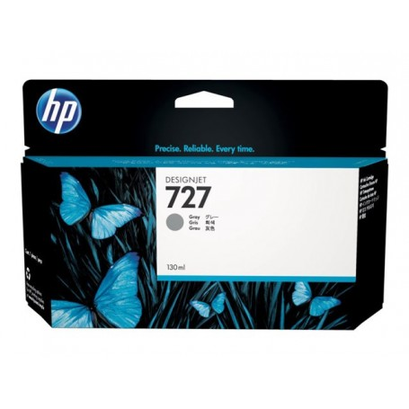HP 727 - Cartouche d'impression gris 130ml (B3P24A)