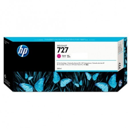 HP 727 - Cartouche d'impression magenta 300ml (F9J77A)