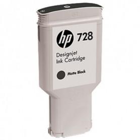 HP 728 - Cartouche d'impression noir mat 300ml (F9J68A)
