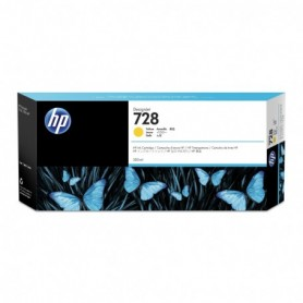 HP 728 - Cartouche d'impression jaune 300ml (F9K15A)