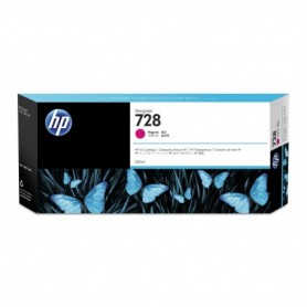 HP 728 - Cartouche d'impression magenta 300ml (F9K16A)