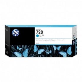 HP 728 - Cartouche d'impression cyan 300ml (F9K17A)