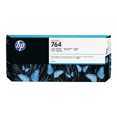 HP 764 - Cartouche d'impression photo noire 300ml (C1Q17A)
