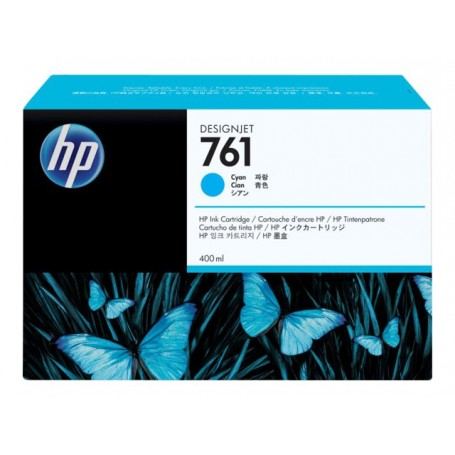 HP 761 - Cartouche d'impression cyan 400ml (CM994A)