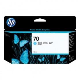 HP 70 - Cartouche d'impression cyan clair 130ml (C9390A)
