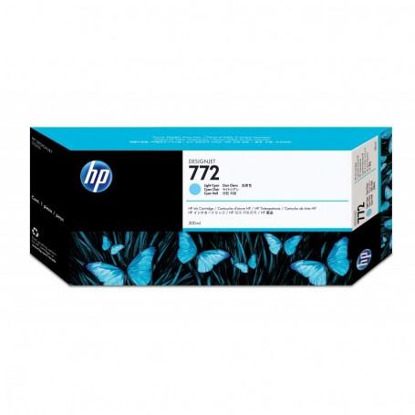 HP 772 - Cartouche d'impression cyan clair 300ml (CN632A)