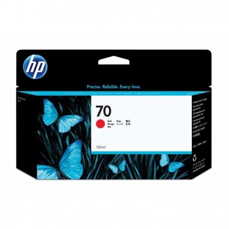 HP 70 - Cartouche d'impression rouge 130ml (C9456A)