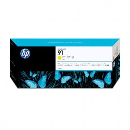 HP 91 - Cartouche d'impression jaune 775ml (C9469A)